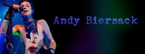 Andy Biersack FB cover pics