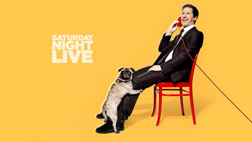 Andy Samberg wallpaper probably containing a hip boot titled Andy Samberg Hosts SNL: May 17, 2014