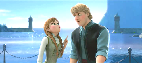 Mason Forever! achtergrond probably with a portrait titled Anna And Kristoff - Screencap.