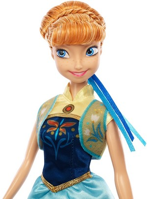 Anna 겨울왕국 Fever Mattel Doll 2015