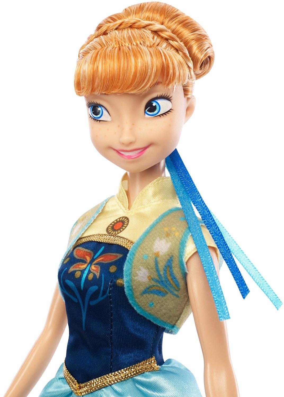 Anna Frozen Fever Mattel Doll