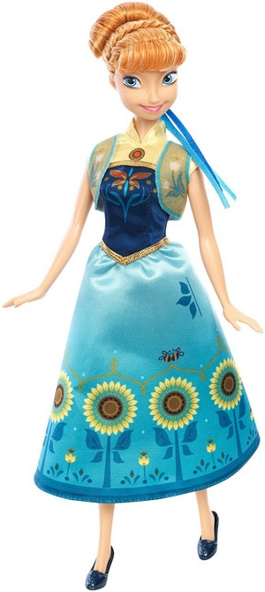 Anna Frozen Fever Mattel Doll