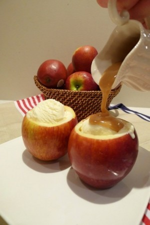 Apples and Ice Cream