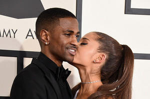 Ariana Grande and Big Sean 2015 Grammy Awards