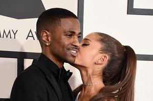 Ariana Grande and Big Sean 2015 Grammy Awards