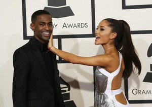 Ariana Grande and Big Sean Cute 2015 Grammy Awards