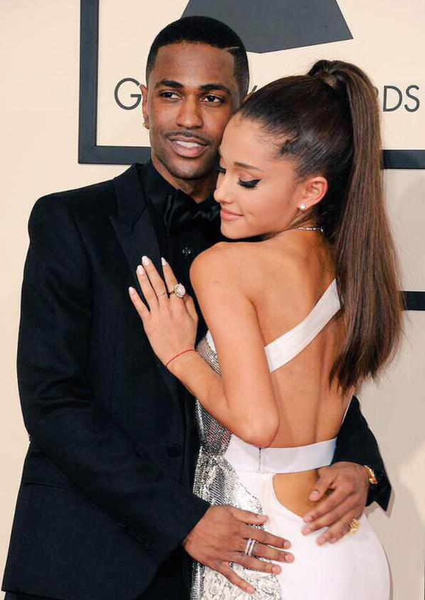 Ariana and Big Sean 2015 Grammys