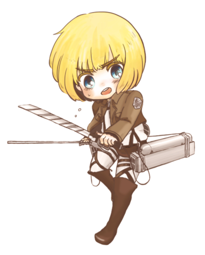 Shingeki no Kyojin (Attack on titan) wallpaper possibly with a cavalry sword entitled Armin Arlert!~