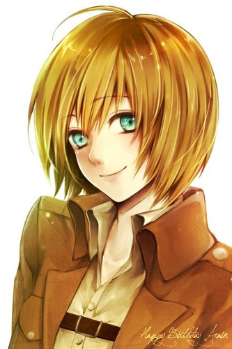 Shingeki no Kyojin (Attack on titan) wallpaper titled Armin Arlert!~