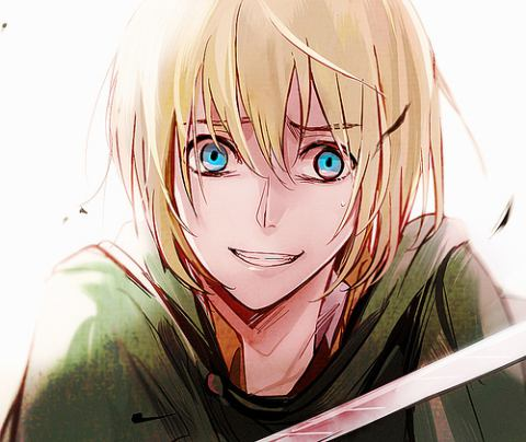 Shingeki no Kyojin (Attack on titan) achtergrond called Armin Arlert!~