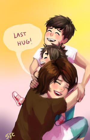 Aunt Cass, Hiro and Tadashi