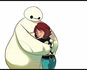 Aunt Cass and Baymax
