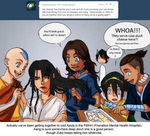 Azula and the Gang