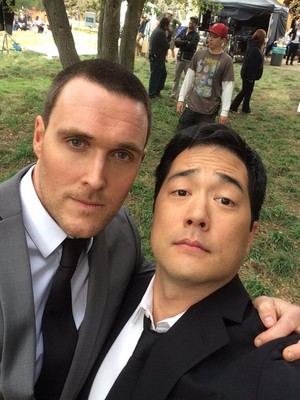 BTS pics of the Series Finale oleh Tim Kang