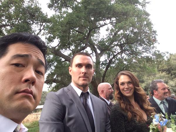 BTS pics of the Series Finale by Tim Kang