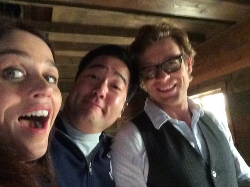 BTS pics of the Series Finale by Tim Kang - the-mentalist Photo
