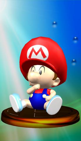 Baby Mario Trophy (Melee)