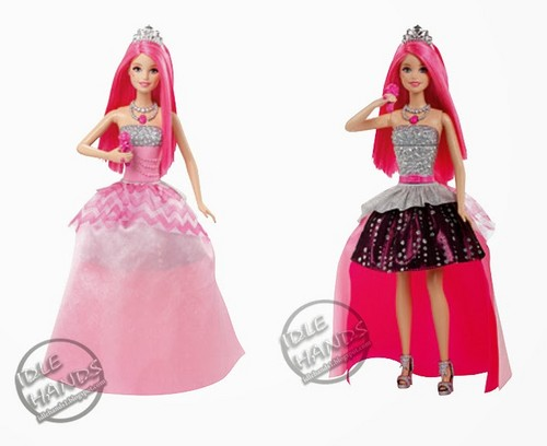 Barbie فلمیں پیپر وال entitled Barbie™ in Rock 'N Royals: Courtney™ doll