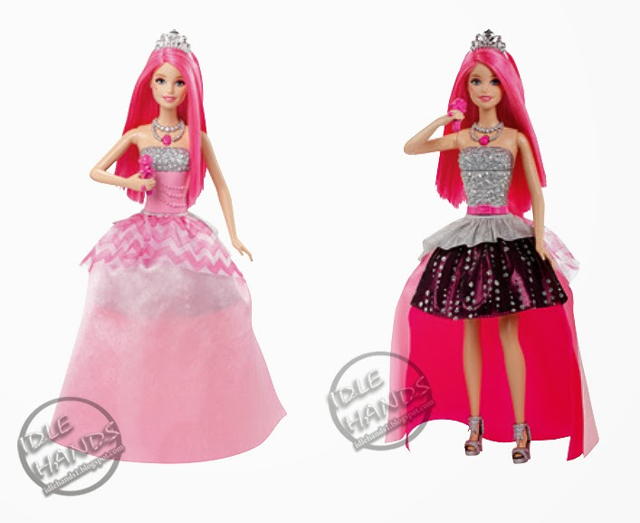 Barbie™ in Rock 'N Royals: Courtney™ doll