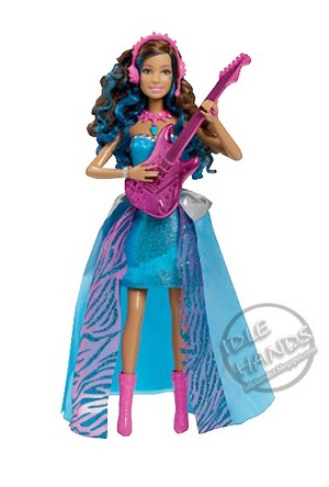 Barbie™ in Rock 'N Royals: Erika™ doll