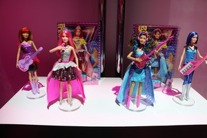 Barbie in Rock'n Royals Dolls