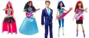barbie in Rock'n Royals cuplikan Dolls!