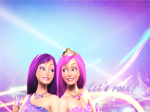 Barbie princess and the popstar