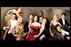 Benedict, Eddie, David, Felicity - Vanity Fair