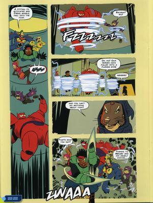 Big Hero 6 Comic - Adventurous Imagination