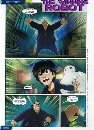 Big Hero 6 Comic - The Winning Robot