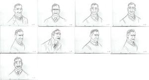 Big Hero 6 Concept Art - Professor Robert Callaghan