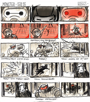 Big Hero 6 - Monster sequence Thumbnails