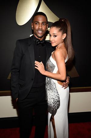 Big Sean and Ariana 2015 Grammy Awards