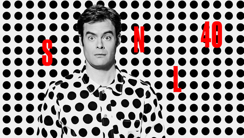 Bill Hader wolpeyper called Bill Hader Hosts SNL: October 11, 2014