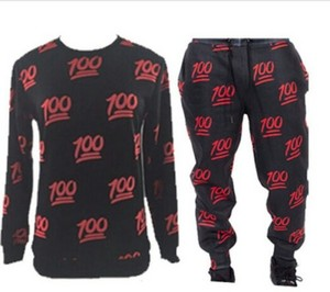 Black and red 100