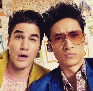 Blaine and Mike