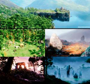 Ribelle - The Brave Sceneries