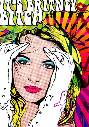 Britney người hâm mộ art