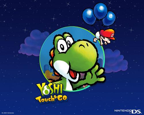 Yoshi wolpeyper possibly containing anime titled Bunch of Yoshi mga wolpeyper