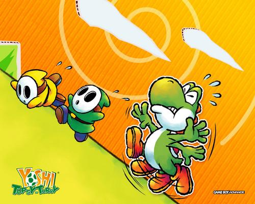Yoshi wolpeyper containing anime entitled Bunch of Yoshi mga wolpeyper