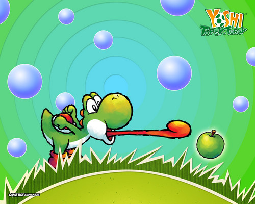 Yoshi wallpaper probably containing anime entitled Bunch of Yoshi Wallpapers