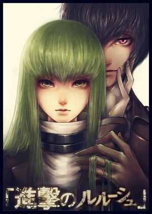 C.C. and Lelouch vi Brittania / Lamperouge | CODE GEASS: Lelouch of the Rebellion