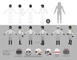 Cadet Ezra Concept Art