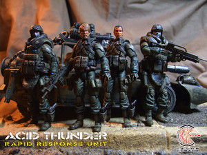 Calvin's Custom 1:18 G.I.Joe 3.75 inch Custom figures and vehicles