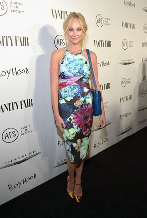 Candice at Vanity Fair and Chrysler celebrate Richard Linklater and the cast of 'Boyhood'