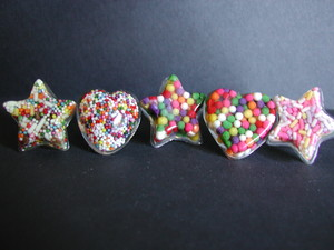 doces Sprinkles Ring www.luvswoodencars2.etsy.com