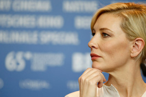 Cate Blanchett in Berlinale 2015  Press Conference