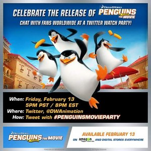 Celebrate the release of penguins of madagascar the movie.