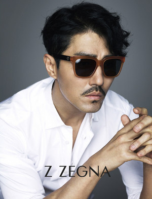 Cha Seung Won In New Z ZEGNA Ads