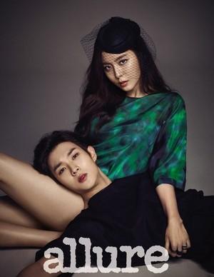 Choi Woo Sik and UEE 'Allure'
